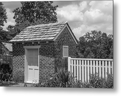 Out Building At The Hermitage Metal Print by Robert Hebert