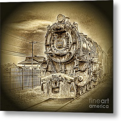 Out Of The Past Metal Print by Arnie Goldstein