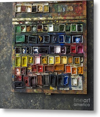Paint Box Metal Print by Bernard Jaubert