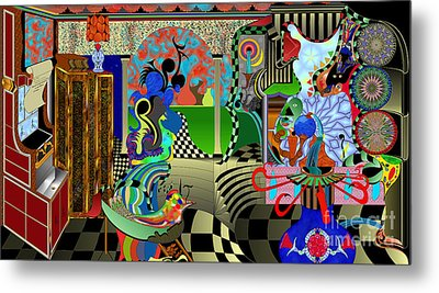 Paint Your World Metal Print by Jason Secor