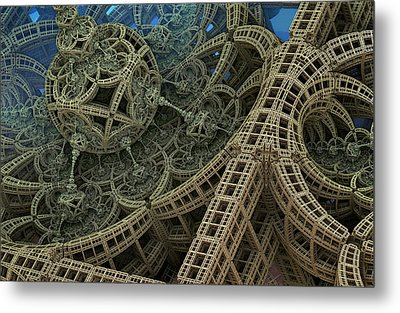 Parallel World 2 Metal Print