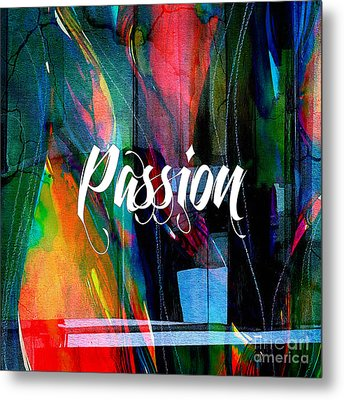 Passion Wall Art Metal Print by Marvin Blaine