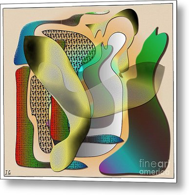 Patches Metal Print by Iris Gelbart