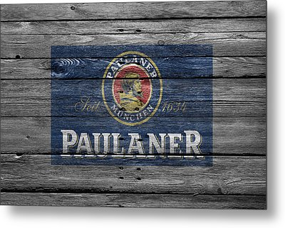 Paulaner Metal Print by Joe Hamilton