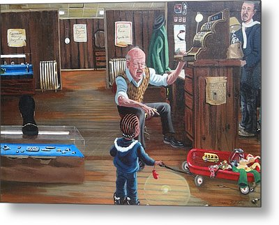 Pawn Shop Metal Print by Susan Roberts
