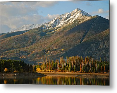 Peak One Metal Print by Bob Berwyn