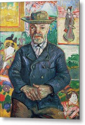 Pere Tanguy Metal Print by Vincent van Gogh