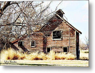 Metal Print featuring the photograph Petite Barn by Sylvia Thornton