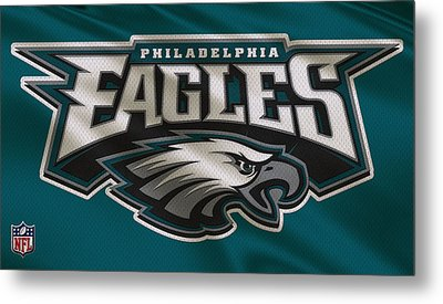Philadelphia Eagles Uniform Metal Print