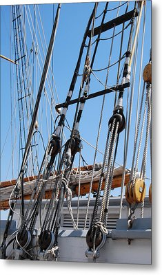 Metal Print featuring the photograph Pirate Ship  by Ramona Whiteaker