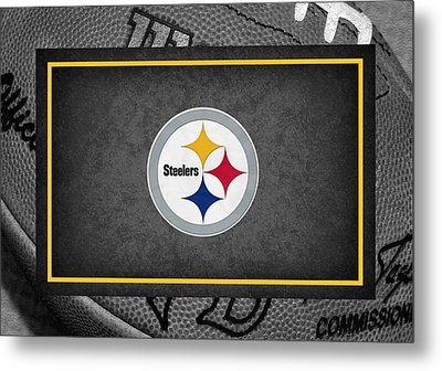 Pittsburgh Steelers Metal Print by Joe Hamilton