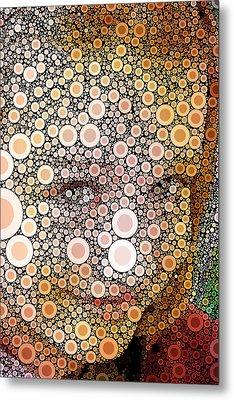 Pop-naomi-01 Metal Print by RochVanh