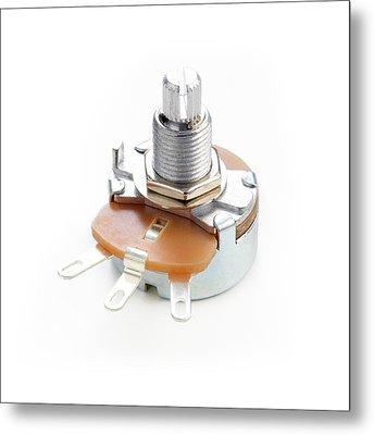 Potentiometer Metal Print