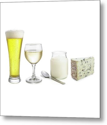 Products Of Fermentation Metal Print