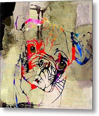 Pug Metal Print by Marvin Blaine