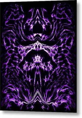 Purple Series 1 Metal Print by J D Owen