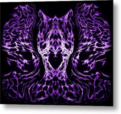Purple Series 4 Metal Print