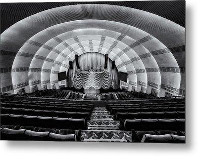 Radio City Music Hall Theatre Metal Print by Susan Candelario