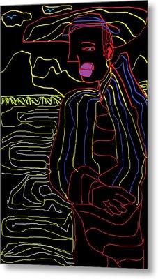 Rainbow Gypsy Metal Print by Don Koester