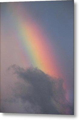 Rainbow Smaug Metal Print
