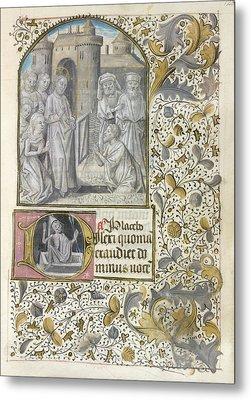 Raising Of Lazarus Metal Print by British Library