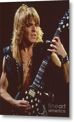 Randy Rhoads At The Cow Palace In San Francisco - 1st Concert Of The Diary Tour Metal Print