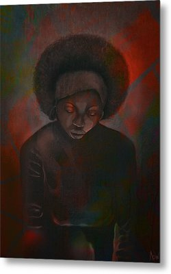 Metal Print featuring the painting Reciprocity by AC Williams