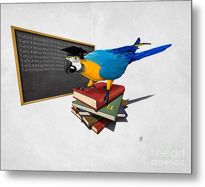 Repeat Wordless Metal Print by Rob Snow