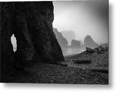 Rialto Beach Metal Print by Jean-Jacques Thebault