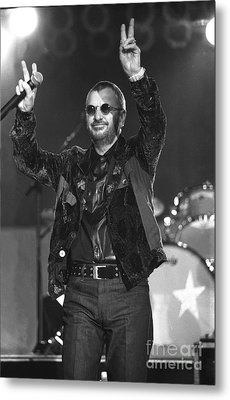 Ringo Starr And His All Starr Band Metal Print