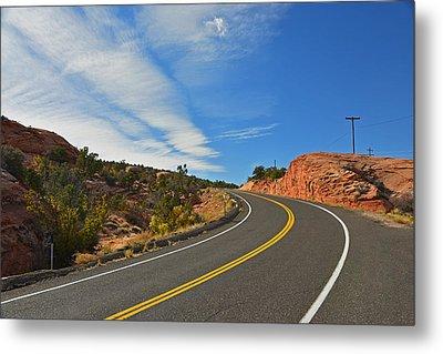 Route 12 - Utah Metal Print