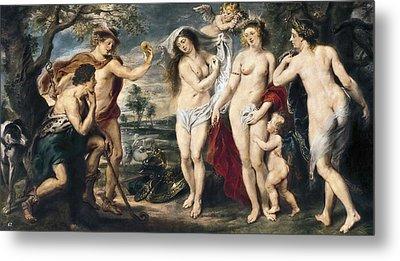 Rubens, Peter Paul 1577-1640. The Metal Print by Everett