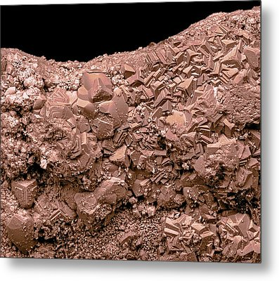 Rust Metal Print by Science Photo Library