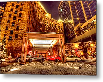 Saint Paul Hotel Metal Print
