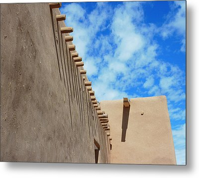 San Francisco De Asis Mission Church  Metal Print by Gia Marie Houck