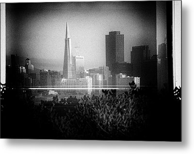 San Francisco Skylines Metal Print by Celso Diniz