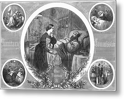 Sanitary Commission, 1864 Metal Print by Granger