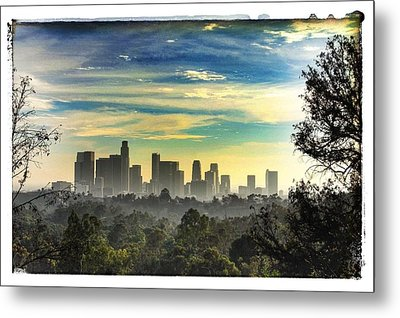 Scene @ Los Angeles Metal Print