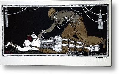 Scheherazade Metal Print by Georges Barbier
