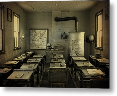 School Days Metal Print by Terry Eve Tanner