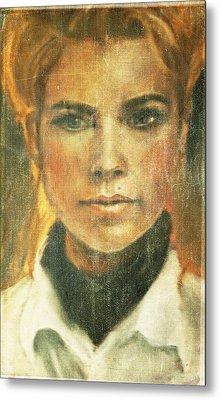 Self Portrait Metal Print by Janet Kearns