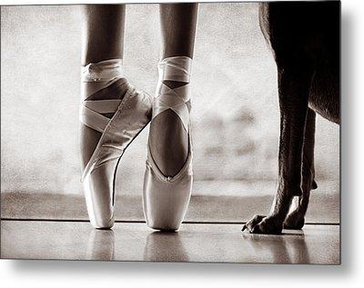 Shall We Dance Metal Print by Laura Fasulo