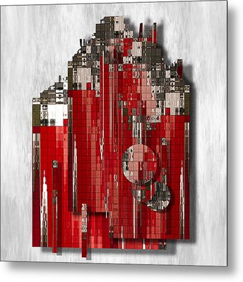 Shapes Of Things Metal Print by Jack Zulli