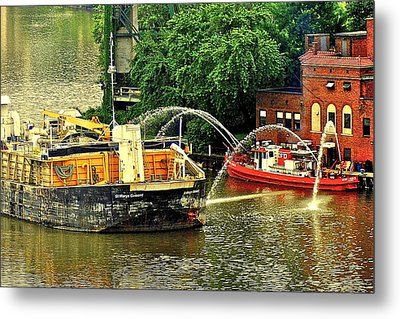 Ship Shape Metal Print by Frozen in Time Fine Art Photography