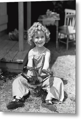 Shirley Temple Metal Print by MMG Archives