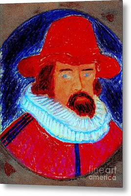 Sir Francis Bacon Metal Print by Richard W Linford