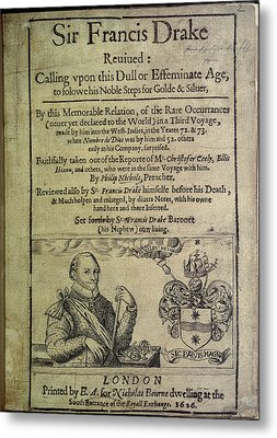 Sir Francis Drake Metal Print