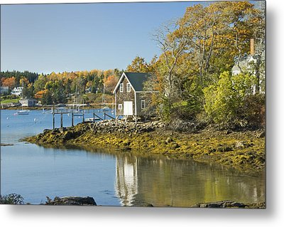 South Bristol On The Coast Of Maine Metal Print by Keith Webber Jr
