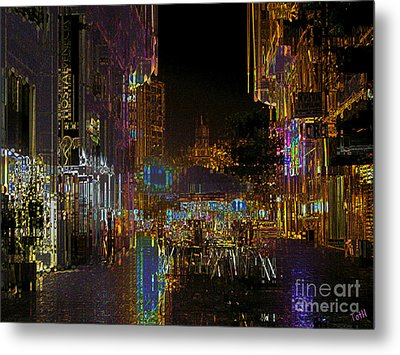 Spanish Nights Metal Print