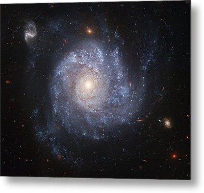 Spiral Galaxy Metal Print by Nasa